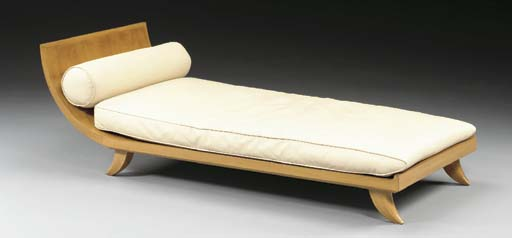 A FRUITWOOD DAYBED