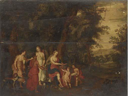 Circle of Hendrick van Balen (