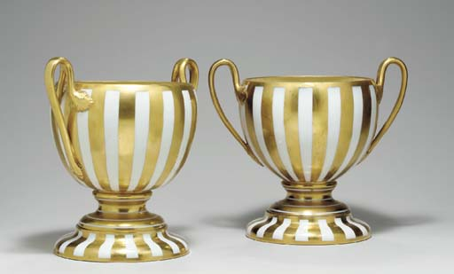 A PAIR OF VIENNA STYLE GILT ST
