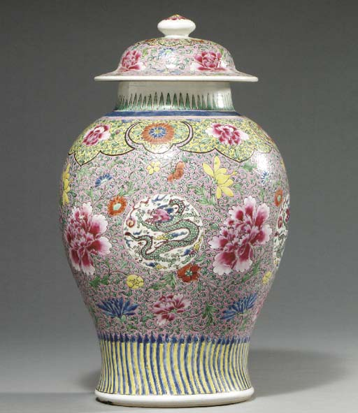 A CHINESE EXPORT POLYCHROME-GL