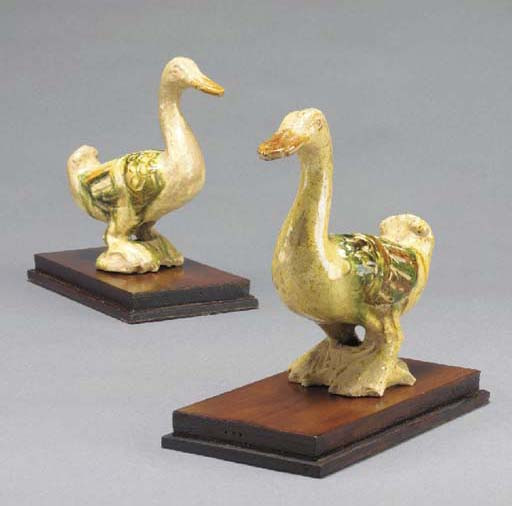 A PAIR OF CHINESE FIGURES OF D
