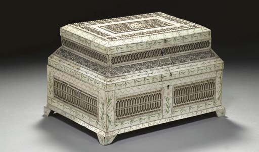 A RUSSIAN NEOCLASSIC IVORY, FO