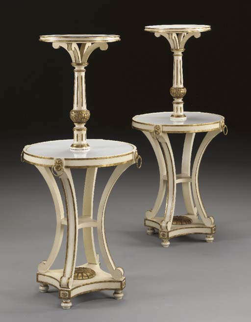 A PAIR OF NEOCLASSIC STYLE PAR