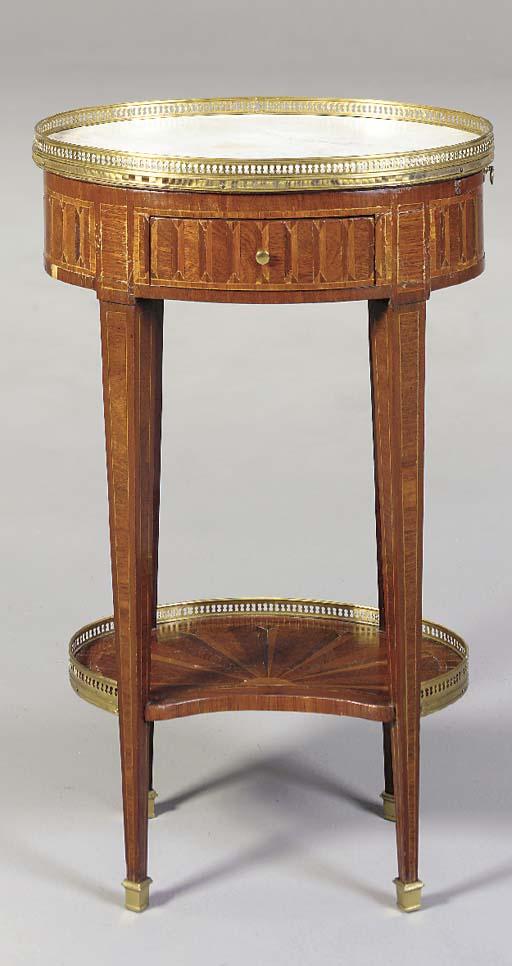 A LOUIS XVI STYLE TABLE EN CHI