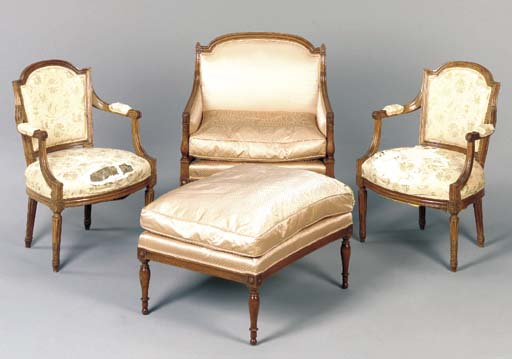 A GROUP OF LOUIS XVI STYLE WAL