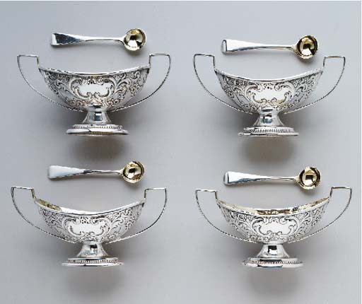 A CASED SET OF FOUR VICTORIAN