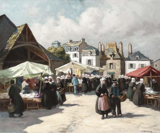 Henri Alphonse Barnoin (French