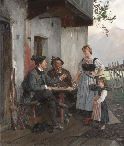 Paul Felgentreff (German, 1854