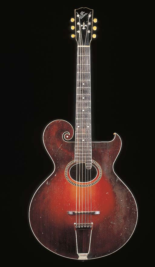 AN EARLY ARCHTOP GUITAR