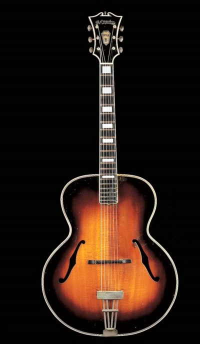 AN AMERICAN ARCHTOP GUITAR