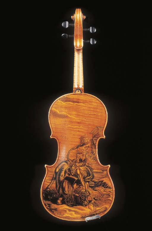 A FRENCH VIOLIN