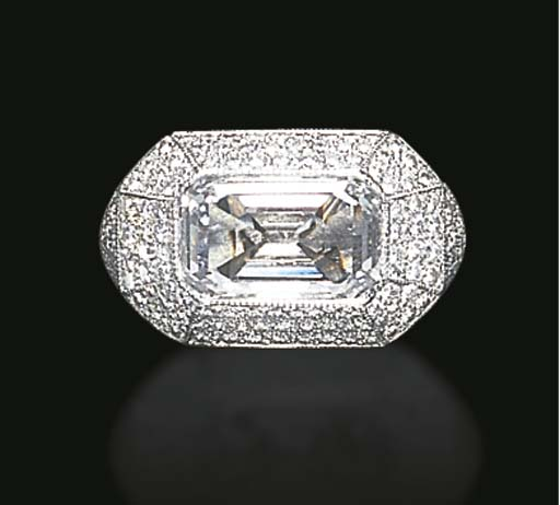 A DIAMOND RING, BY TAFFIN