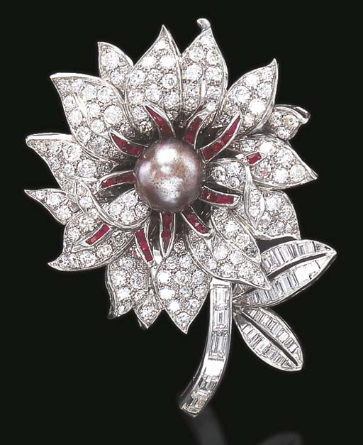 A PEARL, RUBY AND DIAMOND FLOW