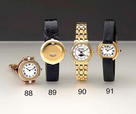 Blancpain. A lady's 18K gold s