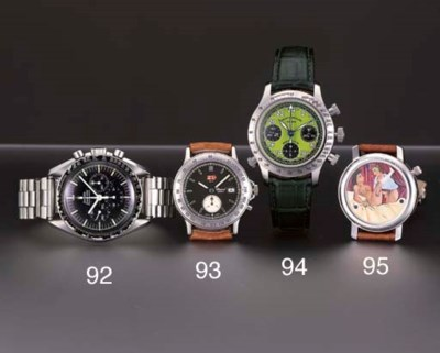 Omega. A stainless steel water