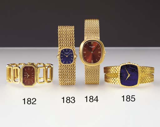 Piaget. An unusual 18K gold cu