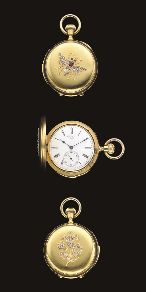 H.R. Ekegren. An 18K gold and