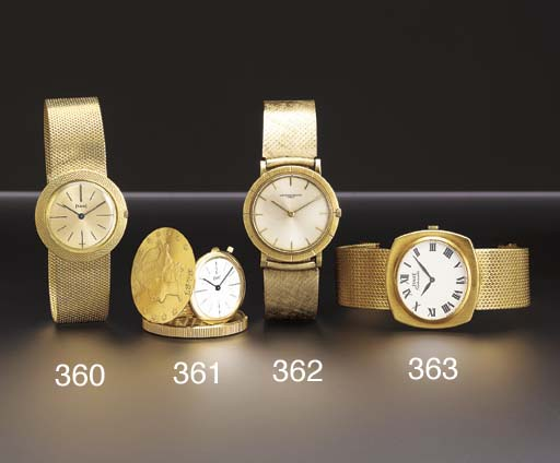 Piaget. An 18K gold United Sta
