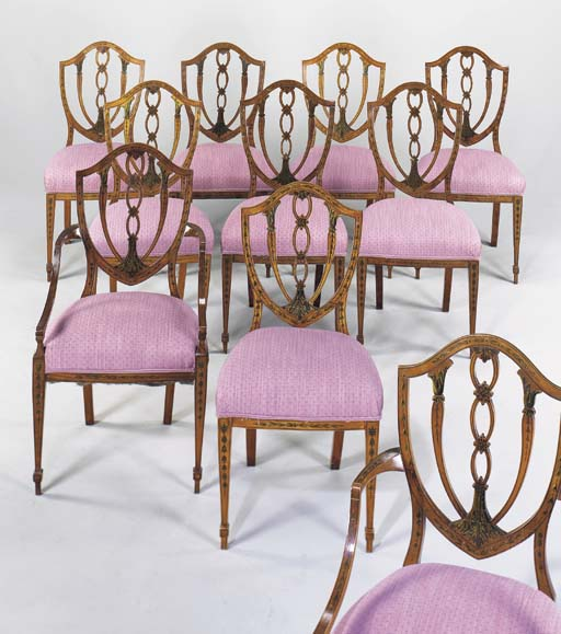 A SET OF TEN EARLY VICTORIAN P