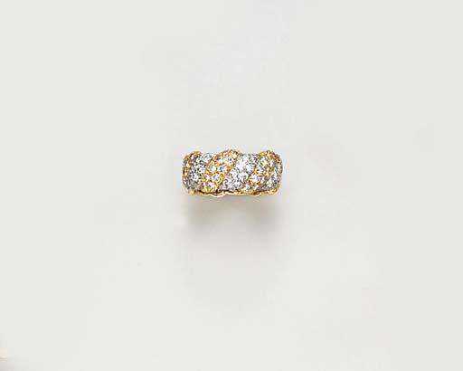 A DIAMOND RING BAND, BY DAVID