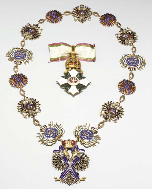 THE ORDER OF SAINT ANDREW THE