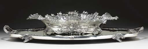 A FRENCH SILVER CENTERPIECE WI