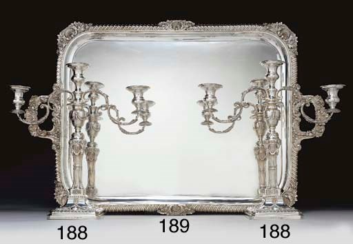 AN EDWARD VII SILVER LARGE TWO