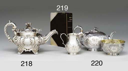 AN AMUSING SILVER-PLATED AND L