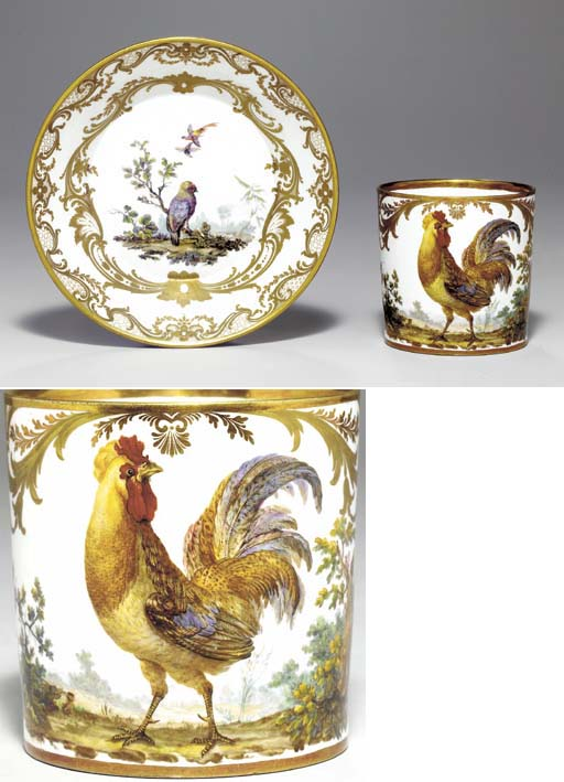 A SEVRES (HARD PASTE) COFFEE-C