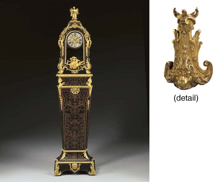 A REGENCE ORMOLU-MOUNTED BRASS