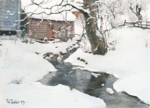 Fritz Thaulow (Norwegian, 1847