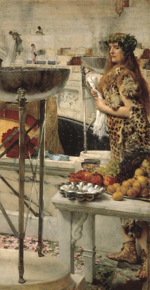 Sir Lawrence Alma-Tadema, R.A.