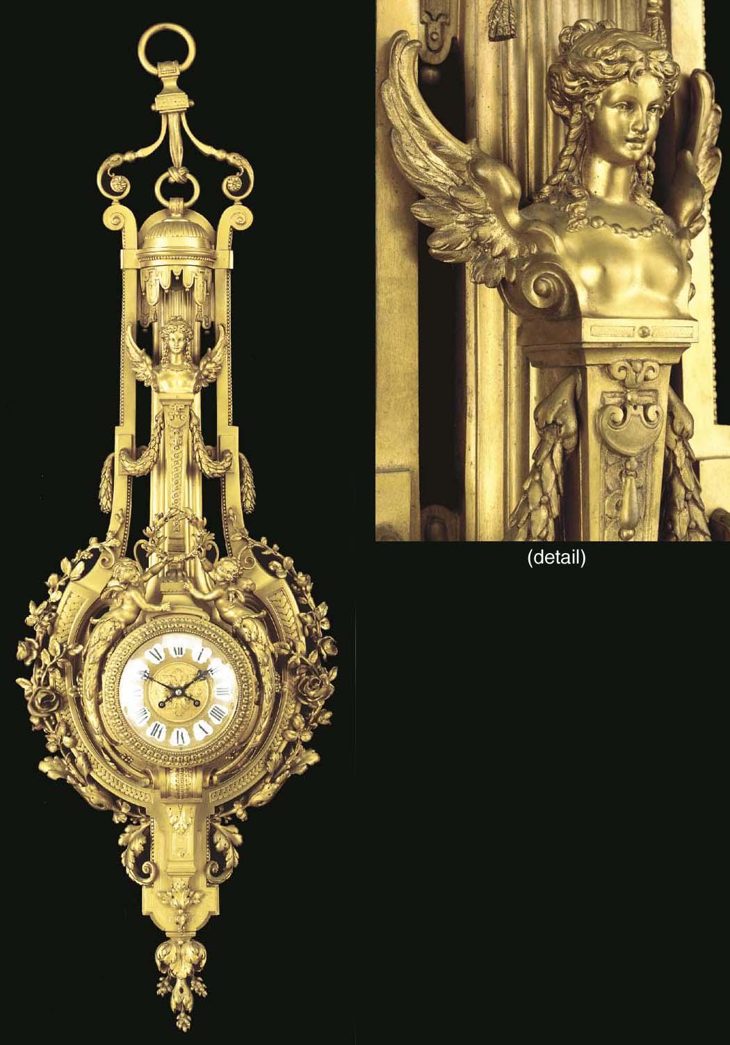 A Napoleon III ormolu cartel d
