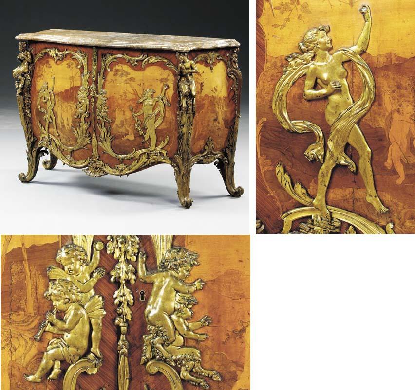 A fine and rare Louis XV style