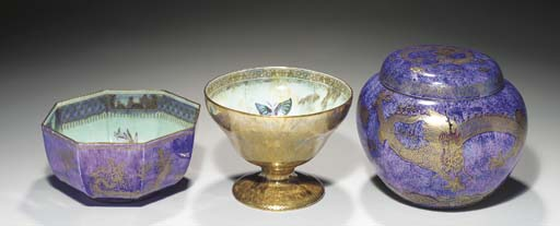 A WEDGWOOD ORDINARY AND DRAGON