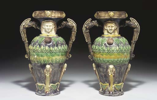 A PAIR OF FRENCH (VOISINLIEU)