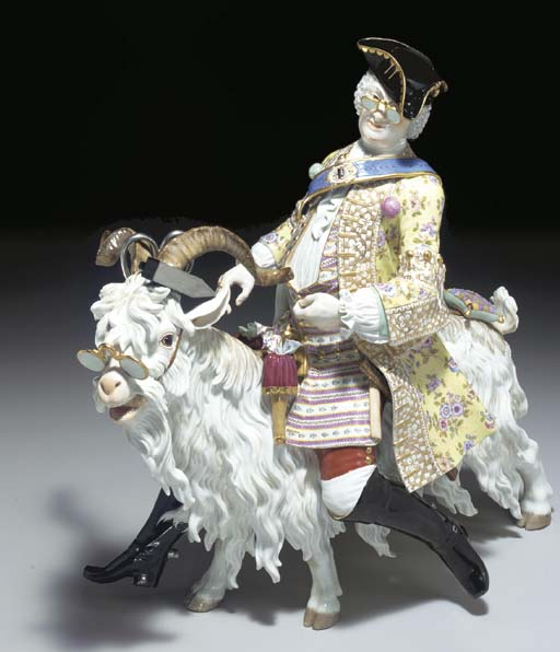A LARGE MEISSEN MODEL OF COUNT