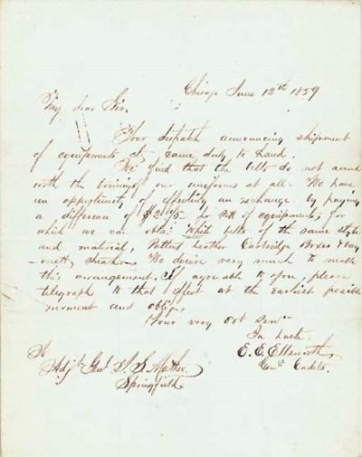 ELLSWORTH, Elmer Ephraim (1837