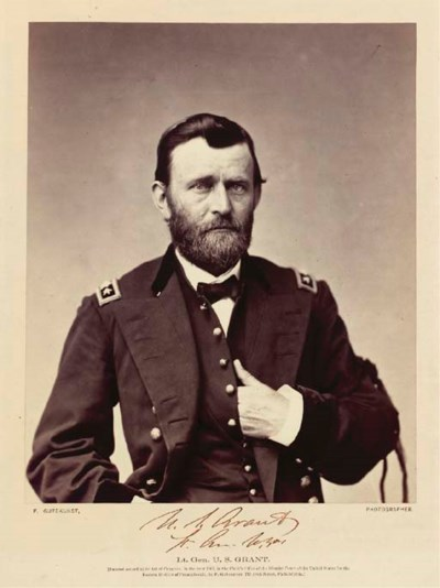 GRANT, Ulysses S., Lieutenant