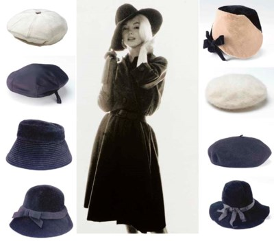 MARILYN MONROE BERETS AND HATS