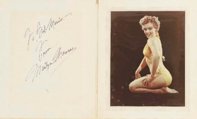 MARILYN MONROE EARLY SIGNATURE