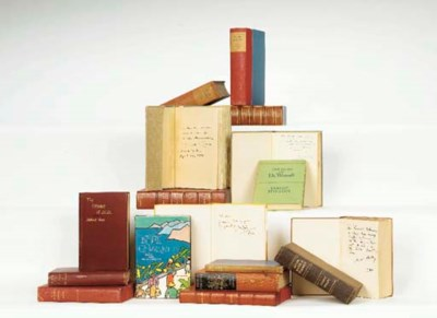 RONALD COLMAN BOOKS INSCRIBED