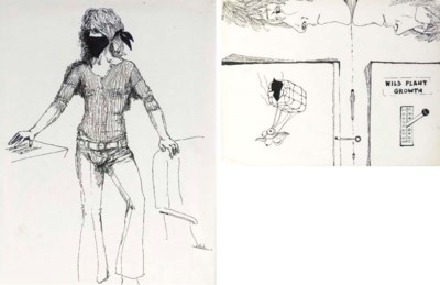 GRACE SLICK DRAWINGS AND OTHER