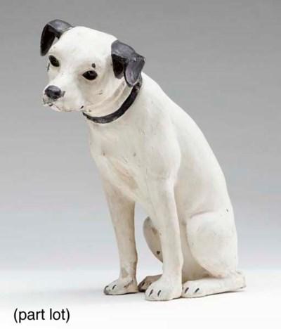 RCA 'NIPPER' DOG STATUETTE