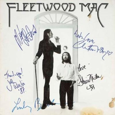 FLEETWOOD MAC SIGNED ALBUM 'FL