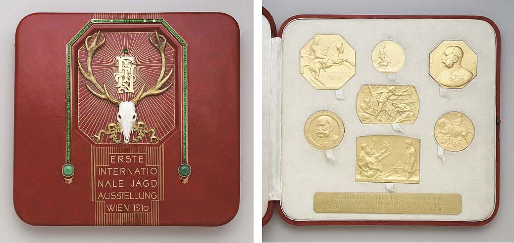 AN IMPERIAL AUSTRIAN CASED SET