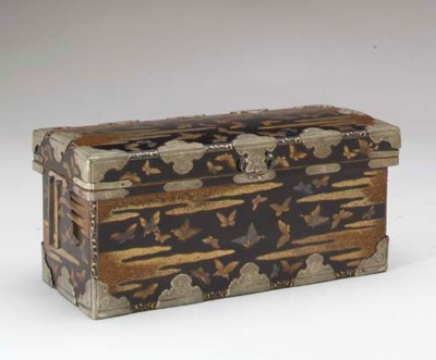 A Lacquer Box and Cover,