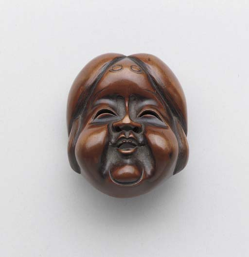 Six Wood Mask Nestuke**,