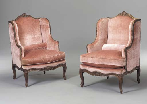 A PAIR OF FRENCH STAINED-BEECH