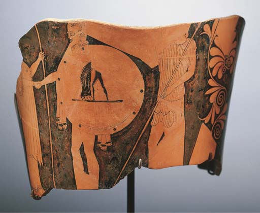 A FRAGMENTARY ATTIC RED-FIGURED CALYX-KRATER